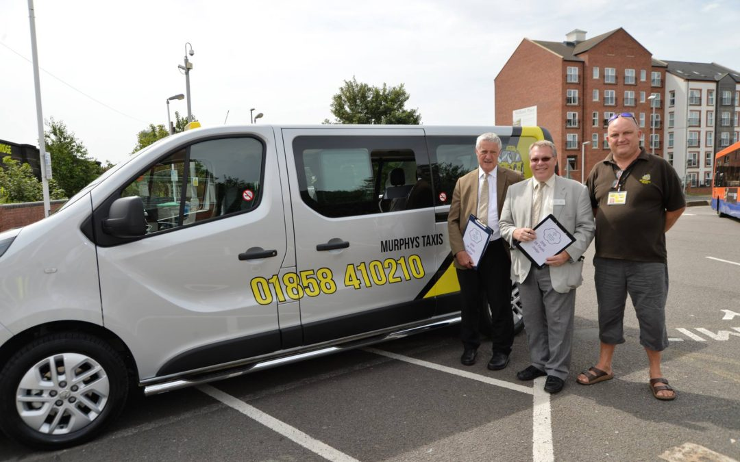 Harborough taxi company happy to help Harborough in Bloom